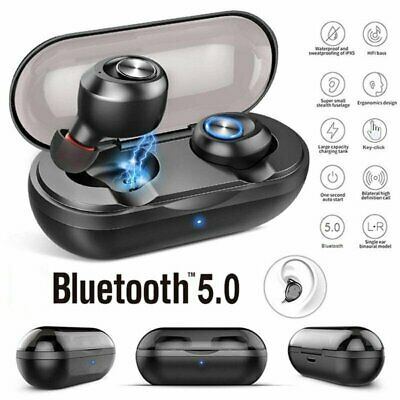 TWS Wireless Bluetooth V5.0 Earbuds Super Bass Sport HiFi Stereo In-Ear Earphone