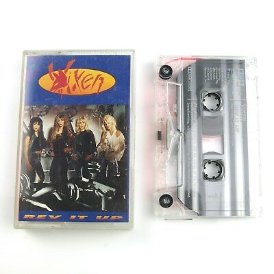 Vixen: Rev It Up - Tape Cassette 1990 EMI *Tested*