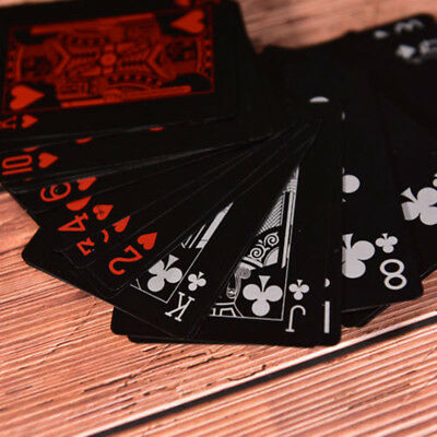 1Set/54pcs Waterproof Plastic PVC Playing Cards Collection Poker Cards Board Gam