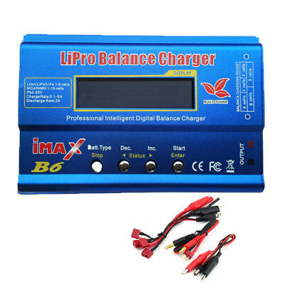 iMAX B6 B6AC LCD Screen Digital RC Lipo NiMh Battery Balance Charger Multifuncti