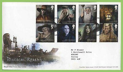 G.B. 2011 Magical Realms set on Royal Mail First Day Cover, Merlins Bridge