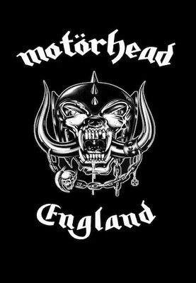 Motörhead England Logo Aufkleber Sticker No T-Shirt Metal MC Punk *Xmas: 2 for 1