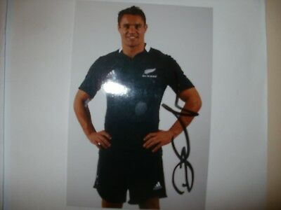 Signed Photo-Dan Carter-New Zealand Rugby