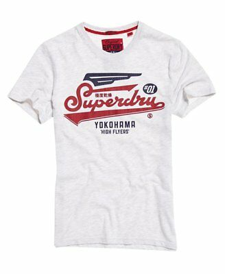 Superdry Herren T-Shirt Klassisches High Flyers Duo T-Shirt