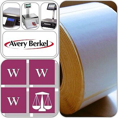 Avery Berkel Thermal Scale Labels - 49X75mm, 12 Rolls, 6,000 Labels