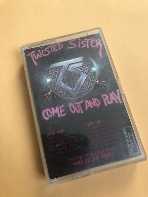 Twisted Sister - Come Out And Play - Cassette