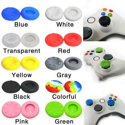 10x Concave Controller Grips Thumb Stick Cap Cover For Xbox One, PS4/3, Xbox 360