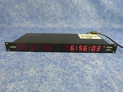 1-Pair Leitch Digital Time Display DTD-5230 (x2) - Red
