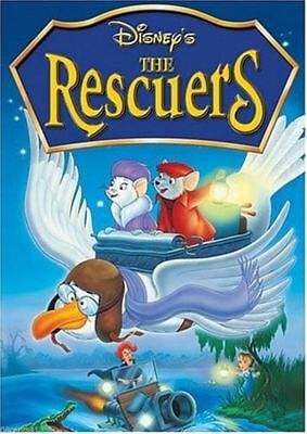 The Rescuers (Widescreen DVD, 2003)