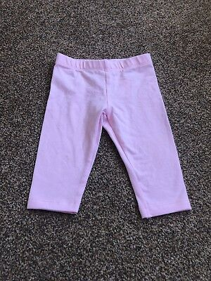 F&f Loght Pink Leggings Trousers Baby Gotls 0-3 Months