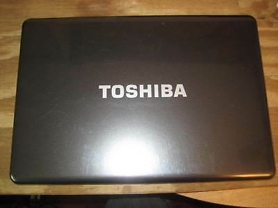 Toshiba Satellite L515 LCD, Lid Cover, Bezel, Hinges, Vid Cable -Whole Assembly