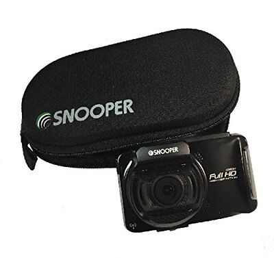 Snooper DVR-4HD DVR-5HD Dash Cam Camera Protective Zip Up Case Holder