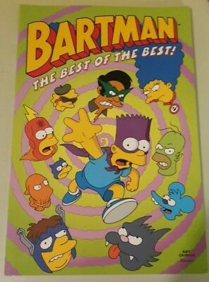 The Simpsons Comic Book - Bartman The Best Of The Best - Original From 1995.