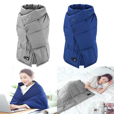 Portable 5V USB PMA Graphene Heating Blanket Pad Winter Warm Cover Office Car