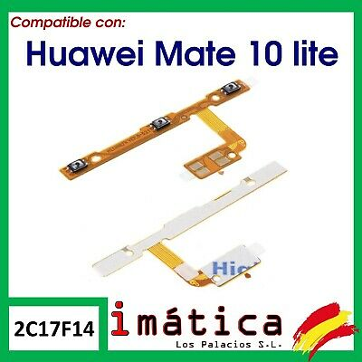 Boton De Encendido Y Volumen Para Huawei Mate 10 Lite On Off Flex Cable Power