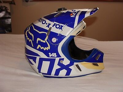 Fox V4 Intake Helmet Men's Medium