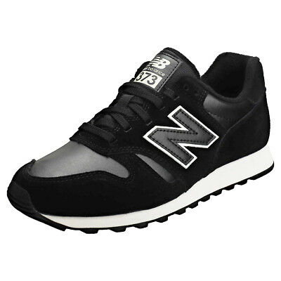 competitive price 06ba6 e82e8 New Balance Wl373 Classic Femmes Black White Suede et Synthetique Baskets