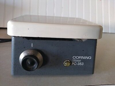 CORNING PC-353 Magnetic Laboratory Stirrer Stir Plate Power Tested/Working
