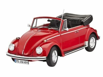 Revell Plastic Model Kit - VW Beetle Cabriolet 1970 Car - 1:24 Scale 07078 - New