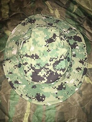 NWU Type III Navy Seal AOR2 Boonie Hat  size LARGE