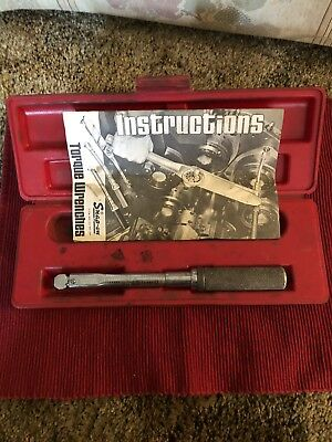 Snap On USA QJ-217B  Torque Wrench 30-200 LBS