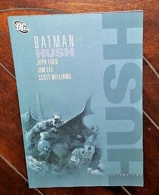 Batman Hush Tpb By Jeph Loeb Jim Lee Dc Comics Great Shape