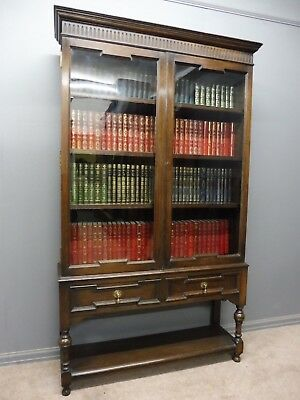 Oak Edwardian  Bookcase By Maple And Co