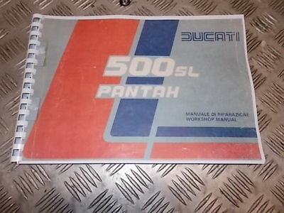 Manuale officina cartaceo Ducati 500 Pantah SL