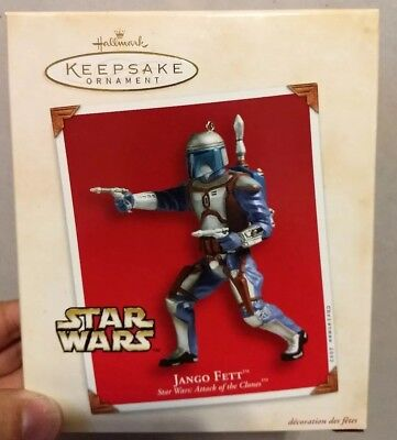 Star Wars: Jango Fett Ornament Hallmark Keepsake 2002