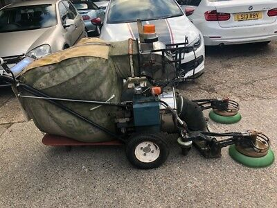 Applied sweeper 414 tennant green machine path road export petrol all working