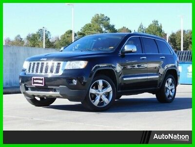 2012 Jeep Grand Cherokee Overland 2012 Overland Used 3.6L V6 24V Automatic Four Wheel Drive SUV Moonroof