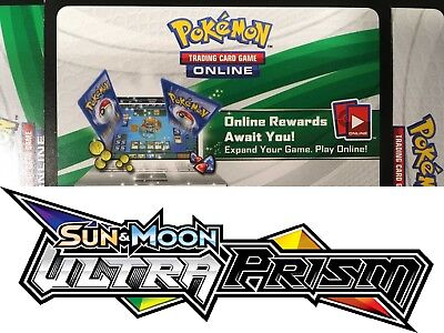 50x ULTRA PRISM PTCGO Pokemon Online Pack Codes Sent Fast!