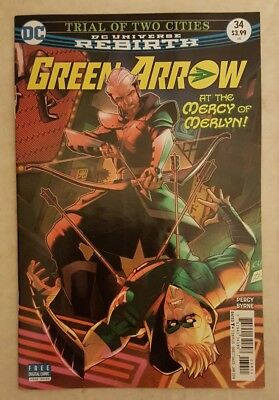 Green Arrow (Rebirth) 34