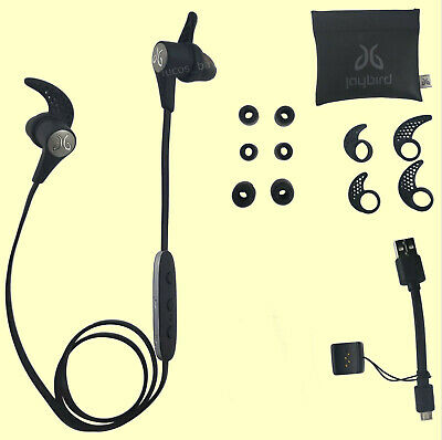 Authentic Jaybird X3 Sport Bluetooth Headset for iPhone and Android - Blackout