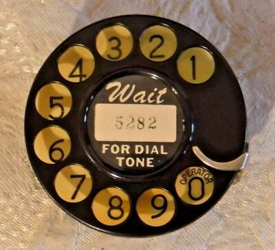 Western Electric 2AA Vintage Rotary Dial Made in USA Patent Dated - Sun Kissed