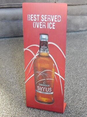 Strongbow Sirrus Cider Red Bar Light Advertising Sign