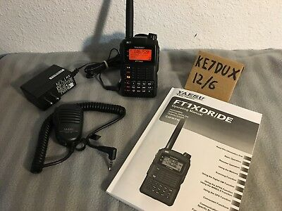 Yaesu FT-1XDR Dual Band Transceiver with Fusion digital and APRS - Lightly Used
