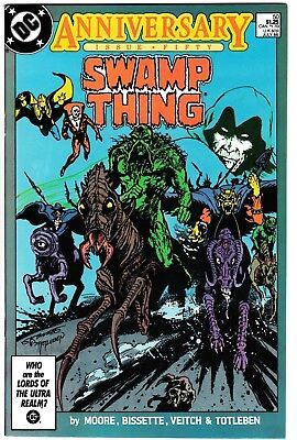 **swamp Thing #50**(1986, Dc)**1St App. Of Justice League Dark**cgc Ready Nm**