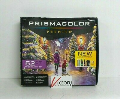 NEW Prismacolor Premier 52ct Mixed Coloring Set | +3 Coloring Pages | 1263149