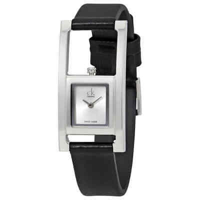 Calvin Klein Unexpected Silver Dial Ladies Watch K4H431C6