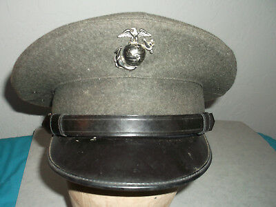 Usmc Enlisted Mans Alpha Uniform Barracks Hat Cap Cover Size 6 7/8