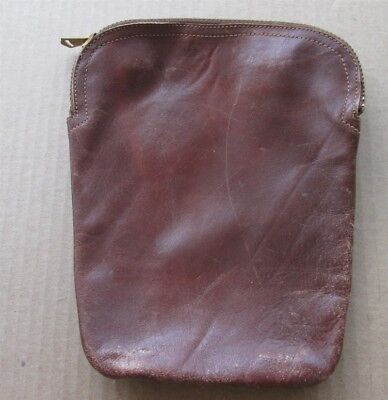 Vintage Brown Leather Tobacco Pouch