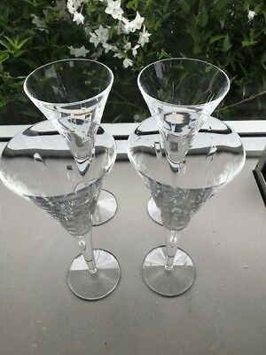 4 x Waterford Crystal Wine Glasses, like new, hardly used.  Excellent condition