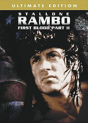 Rambo - First Blood Pt. 2 (DVD, 2004, Ultimate Edition) II SYLVESTER STALLONE NM