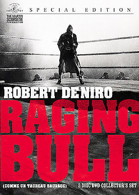 Raging Bull (DVD, 2008, 2-Disc Set, Special Collector's Edition) MARTIN SCORSESE