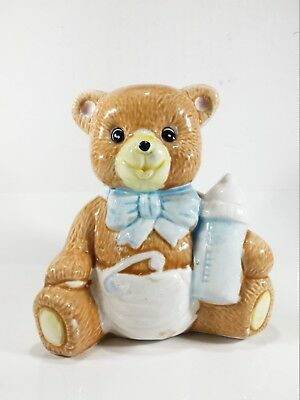Rare Bautiful Baby Bear Bank Plaster 280g