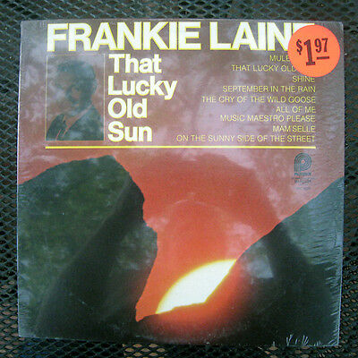 "Frankie Laine ""That Old Lucky Sun"" Spc-3526 12"" Lp :: New/Sealed"