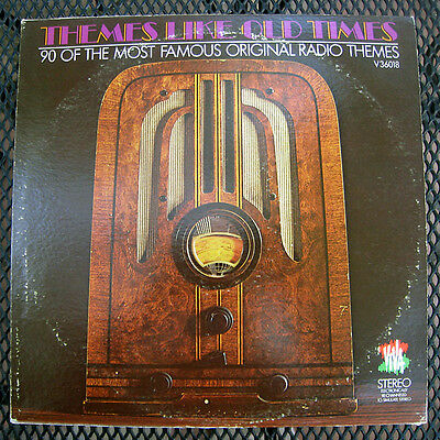 Themes Like Old Times 90 Of Most Famous Original Radio Themes Lp (V36018) Lp