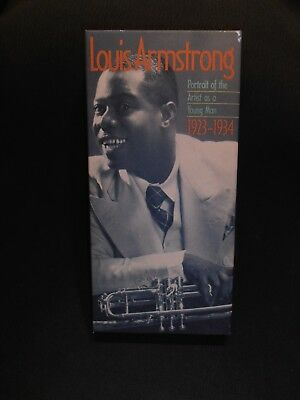 Portrait of the Artist as a Young Man by Louis Armstrong (Cassette, Sep-1994)