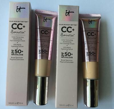 It Cosmetics Your Skin But Better Cc Cream Illumination With Spf 50+ - Uk Seller